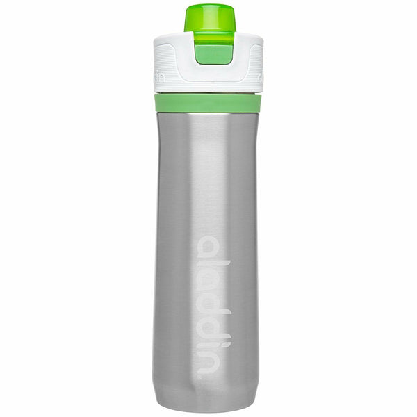 Aladdin Active Hydration Stainless Steel Vacuum Insulated Water Bottle 0.6L Green - Thermo Hero