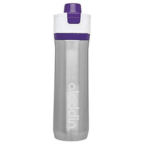 Aladdin Active Hydration Stainless Steel Vacuum Insulated Water Bottle 0.6L Purple - Thermo Hero