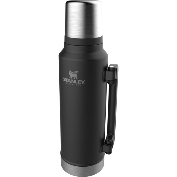 Stanley Classic Vacuum Bottle 1.4L Matte Black - Thermo Hero