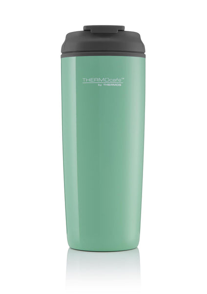Thermos Coastal Flip Top Traveller Tumbler Aqua Wave 450ml - Thermo Hero