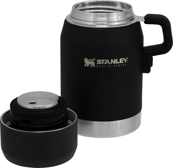 Stanley The Unbreakable Vacuum Food Jar 0.50L  Foundry Black - Thermo Hero