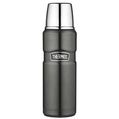 Thermos King Flask - 470ml, Gun Metal - Thermo Hero