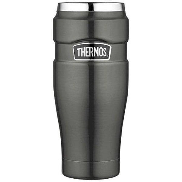 Thermos King Tumbler - 470ml, Gun Metal - Thermo Hero