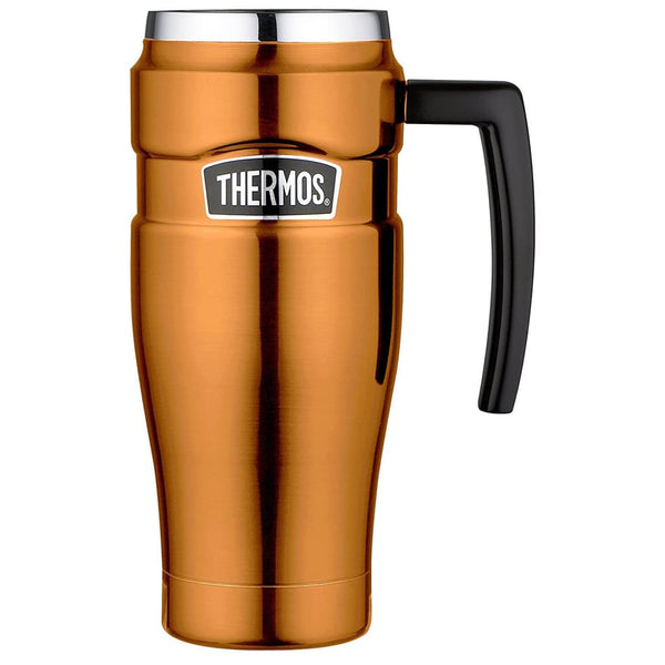 Thermos King Travel Mug - 470ml, Copper - Thermo Hero