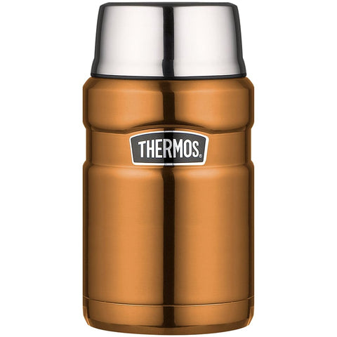 Thermos King Food Flask - 710ml, Copper - Thermo Hero