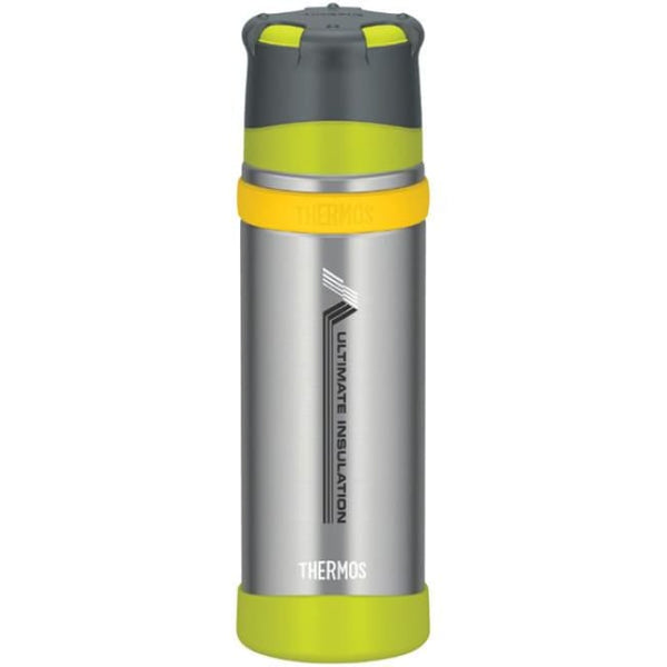 Thermos Stainless Steel Ultimate Flask MKII - 500ml, Gun Metal - Thermo Hero
