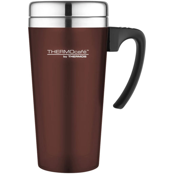 ThermoCafe Soft Touch Travel Mug - 420ml, Paprika - Thermo Hero