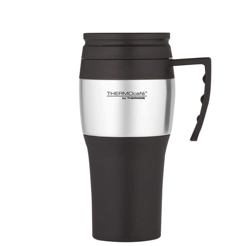 ThermoCafe 2010 Travel Mug - 400ml, Stainless Steel - Thermo Hero