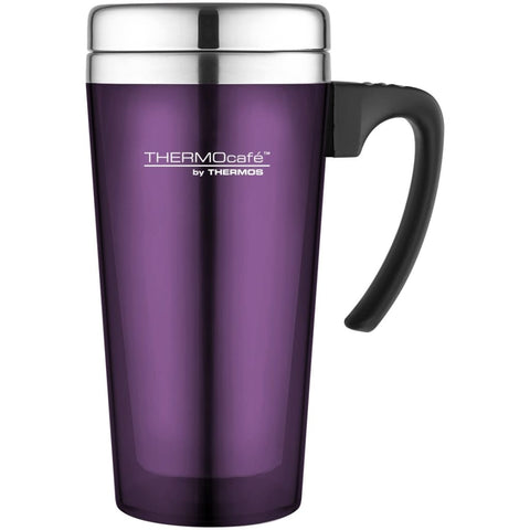 ThermoCafe Translucent Travel Mug - 420ml, Purple - Thermo Hero