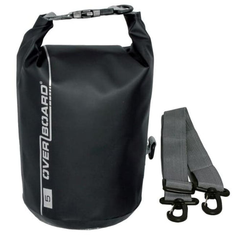 Overboard Waterproof Dry Tube Bag- 5 Litre, Black - Thermo Hero