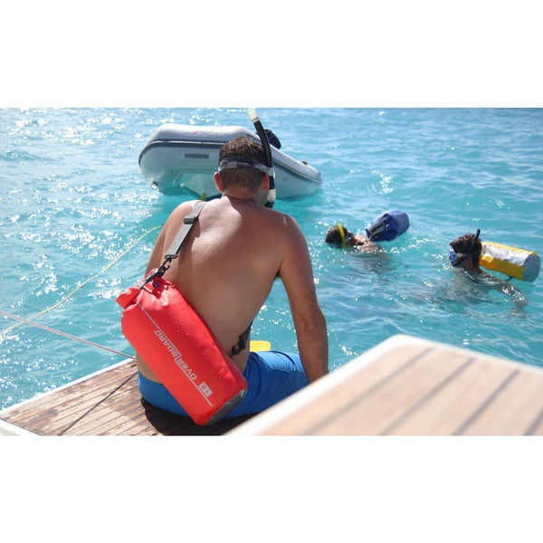 Overboard Waterproof Dry Tube Bag- 12 Litre, Blue - Thermo Hero