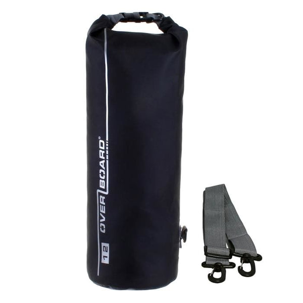 Overboard Waterproof Dry Tube Bag- 12 Litre, Black - Thermo Hero