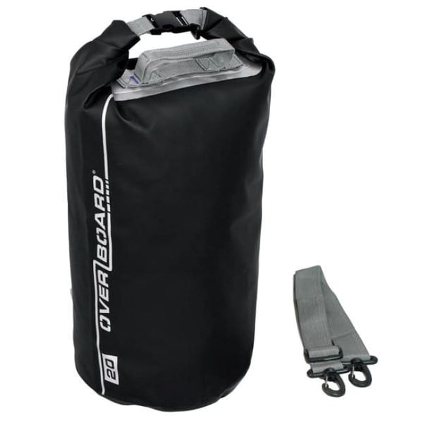 Overboard Waterproof Dry Tube Bag- 20 Litre, Black - Thermo Hero