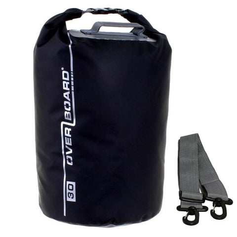 Overboard Waterproof Dry Tube Bag- 30 Litre, Black - Thermo Hero