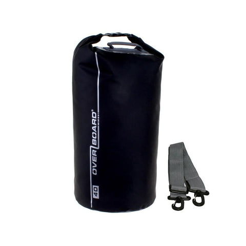 Overboard Waterproof Dry Tube Bag- 40 Litre, Black - Thermo Hero
