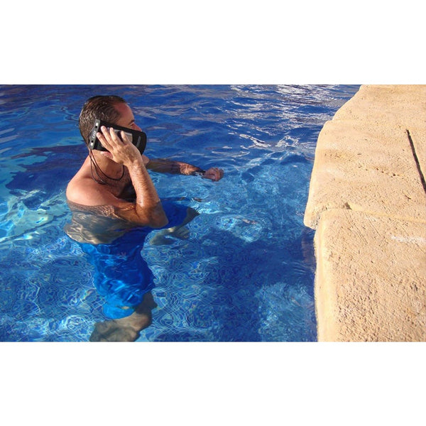 Overboard Waterproof Phone Case - Large, Black - Thermo Hero