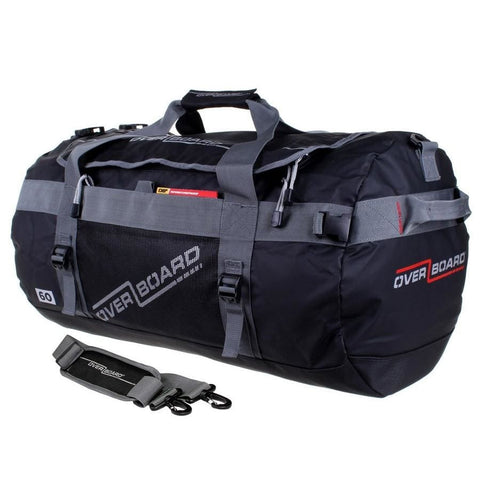 Overboard Adventure Duffel Bag - 60 Litres, Black - Thermo Hero