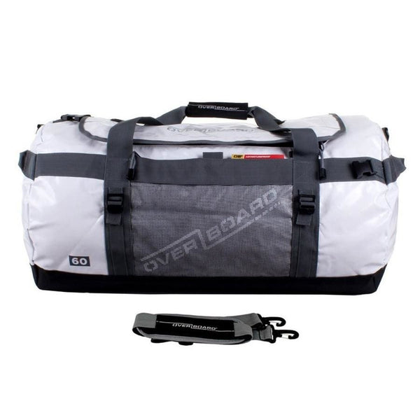 Overboard Adventure Duffel Bag - 60 Litres, White - Thermo Hero