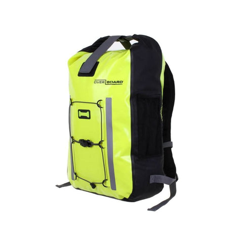 Overboard Pro-Vis Waterproof Backpack - 30 Litres, Yellow - Thermo Hero