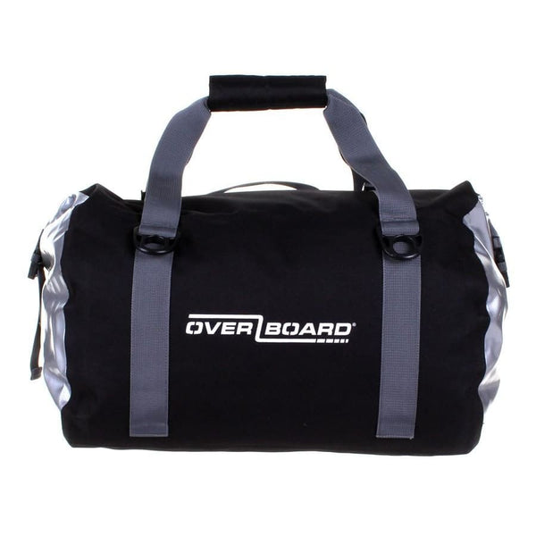 Overboard Classic Waterproof Duffel Bag - 40 Litres, Black - Thermo Hero