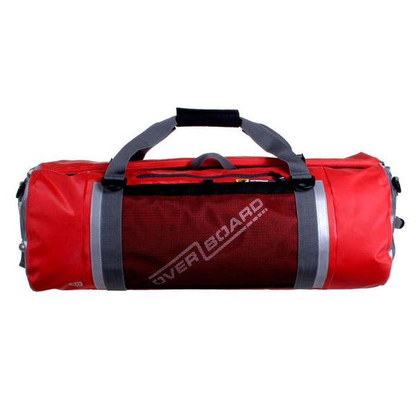 Overboard Pro-Sports Waterproof Duffel Bag - 60 Litres, Red - Thermo Hero