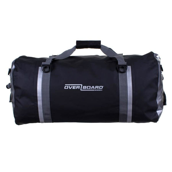 Overboard Pro-Sports Waterproof Duffel Bag - 90 Litres, Black - Thermo Hero