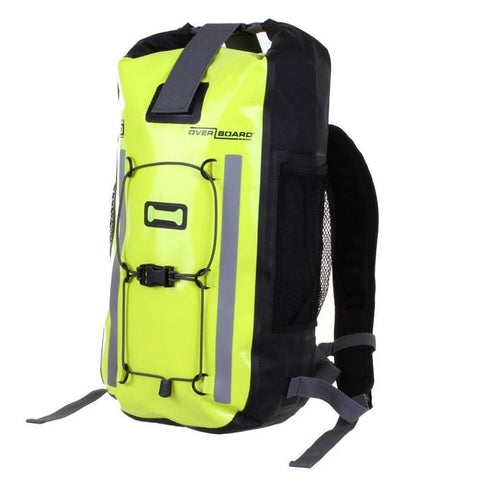Overboard Pro-Vis Waterproof Backpack - 20 Litres, Yellow - Thermo Hero