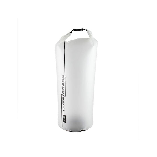 Overboard Pro-Light Dry Tube - 12 Litre, Clear - Thermo Hero