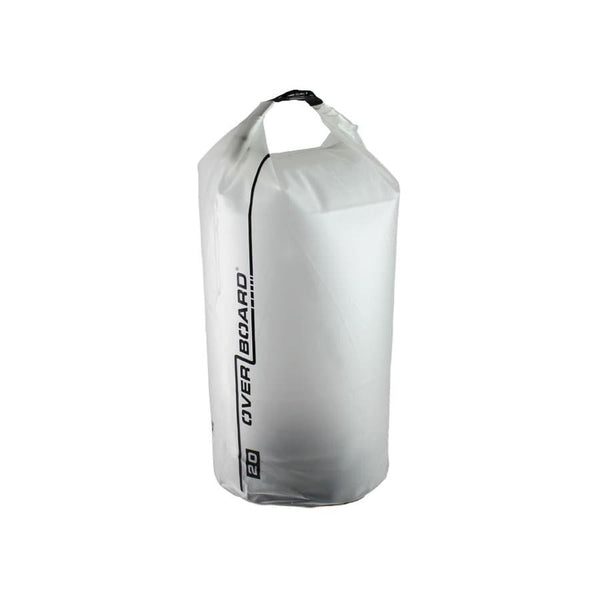 Overboard Pro-Light Dry Tube - 20 Litre, Clear - Thermo Hero