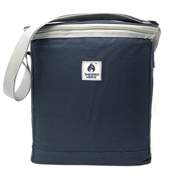 Thermo Hero Essentials Cool Bag - 14L, Medium, Navy - Thermo Hero