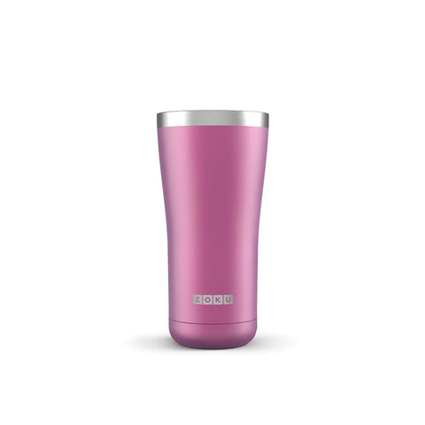 Zoku 3 in 1 Stainless Steel Tumbler - 0.57L, Purple - Thermo Hero