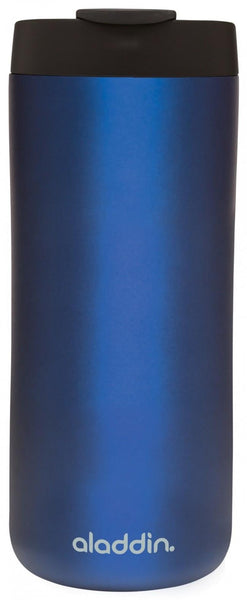 Aladdin Stainless Steel Vacuum Mug 0.35L Blue - Thermo Hero