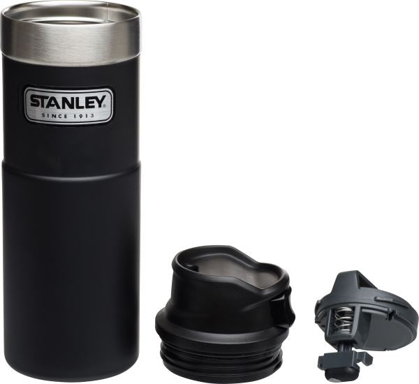 Stanley Classic Trigger-Action Travel Mug .47L Matte Black - Thermo Hero