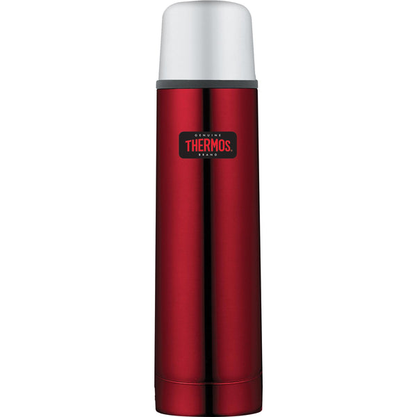 Thermos Light and Compact Flask Red 1.0L