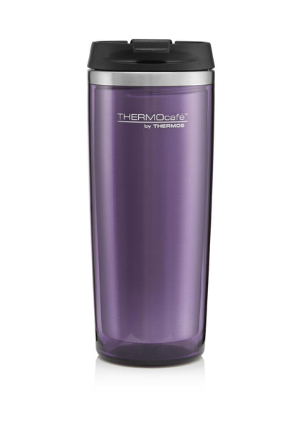 Thermos Thermocafe Flip Lid Travel Tumbler Purple 350ml