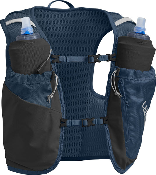 Camelbak Women's Ultra Pro Vest Large (2 x 500ml) Gibraltar Navy / Silver - Thermo Hero