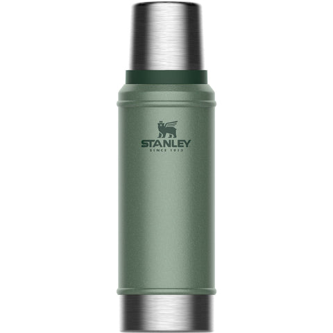 Stanley Classic Vacuum Bottle .75L Hammertone Green - Thermo Hero