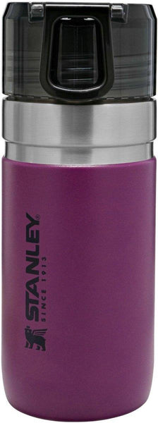 Stanley GO Vacuum Insulated Water Bottle 0.47L Berry Purple - Thermo Hero