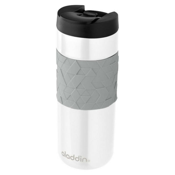 Aladdin Easy Grip Leak Lock Mug 0.47L White - Thermo Hero