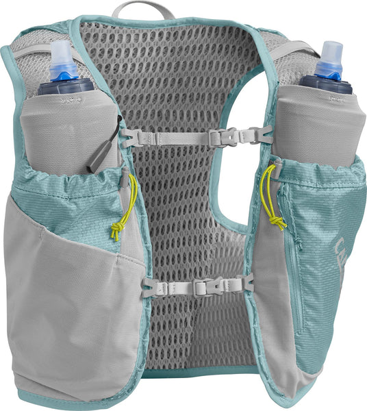 Camelbak Women's Ultra Pro Vest XSmall (2 x 500ml) Aqua Sea / Silver - Thermo Hero