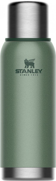 Stanley Adventure Vacuum Bottle 1.0L Hammertone Green - Thermo Hero