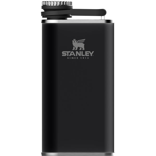 Stanley Classic Easy-Fill Wide Mouth Flask .23L Matte Black - Thermo Hero