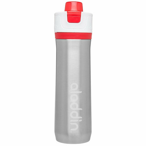 Aladdin Active Hydration Stainless Steel Vacuum Insulated Water Bottle 0.6L Red - Thermo Hero
