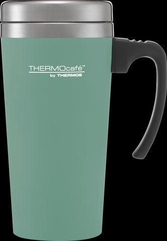 ThermoCafe Soft Touch Travel Mug Duck Egg 420ml