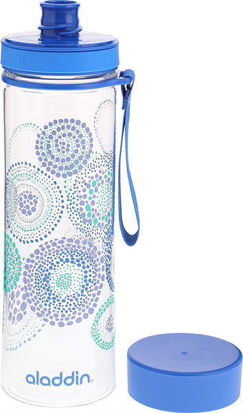 Aladdin Aveo Water Bottle 0.6L Blue (Graphics) - Thermo Hero