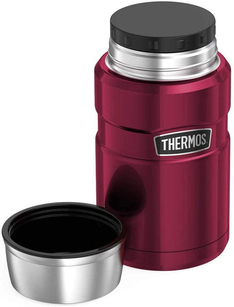 Thermos Stainless King Food Flask 710ml Raspberry