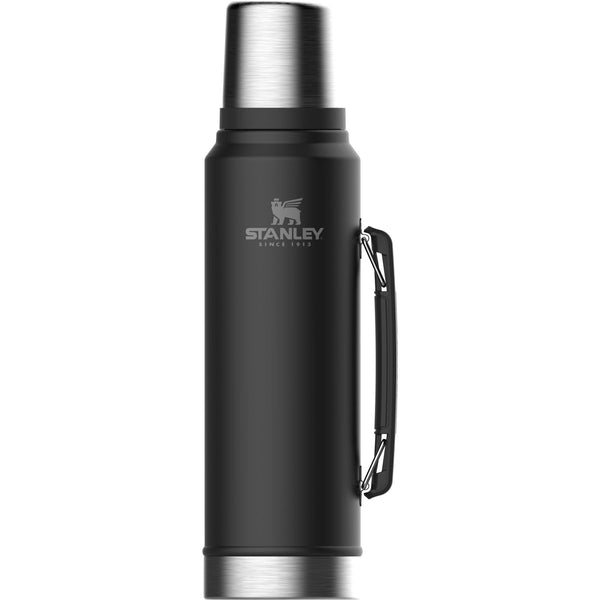 Stanley Classic Vacuum Bottle 1.0L Matte Black - Thermo Hero