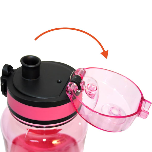 Ion8 Ultimate Sports Water Bottle - 550ml, Pink - Thermo Hero