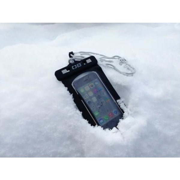 Overboard Waterproof Phone Case - Small, Black - Thermo Hero