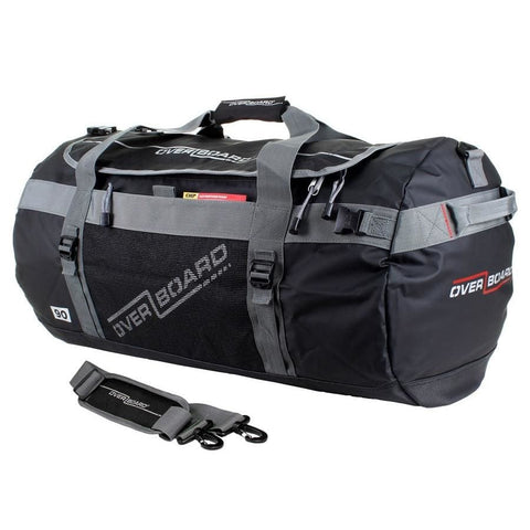 Overboard Adventure Duffel Bag - 90 Litres, Black - Thermo Hero